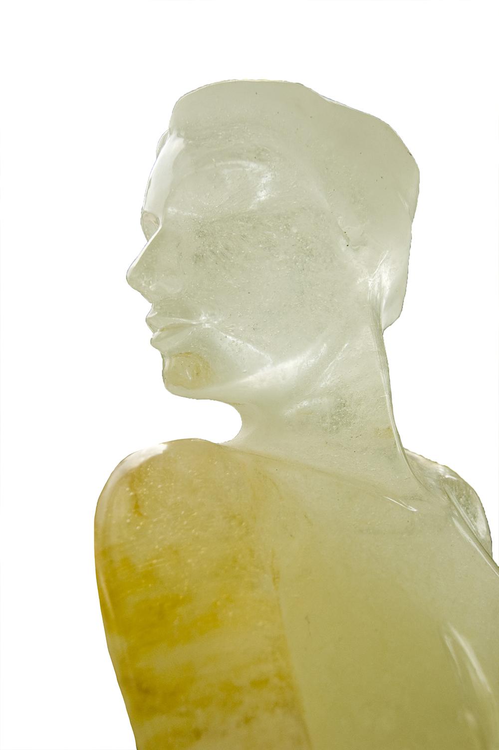 Armando Granja-Escultura en vidrio-N0000364