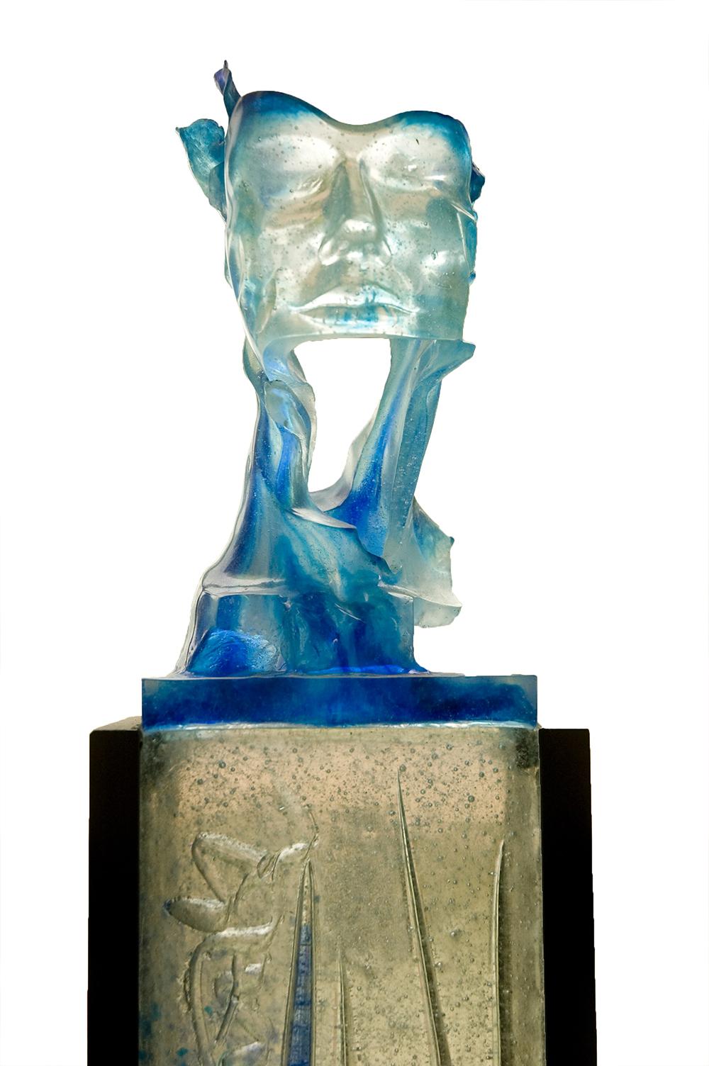 Armando Granja-Escultura en vidrio-N0000375